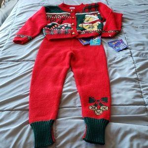 NWT Vintage Pooh Sweater Set